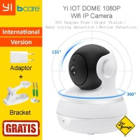 CCTV Wifi Yi IOT Dome IP Camera 1080p International Version