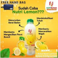 NUTRI LEMON 100% PURE LEMON ORIGINAL -DIET LEMON LANGSING SEHAT