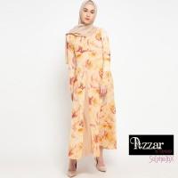 AZZAR Stephanie Maxi Dress in Orange