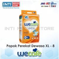 WECARE - Popok Dewasa Unisex XL 8 / Popok Perekat / Adult Diapers