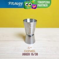 Jigger 15 30 - Gelas takar Stainless 15/30 - Bartender tools Conalli