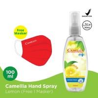 Camellia Moisturizing Hand Spray Lemon 100ml