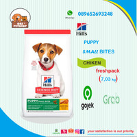 GOJEK GRAB hills science diet puppy small bites 7,03 kg Chiken