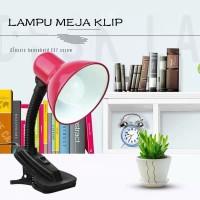 Lampu Jepit Meja Belajar / Lampu Baca / Desk Lamp