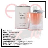 Lancome La Vie Est Belle L'Eau de Parfum 100ml Women
