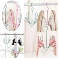 Gantungan Hanger Jemuran Sandal Sepatu Multifungsi Type1