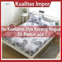 SEPREI Bed Cover KATUN IMPORT UKURAN 120x200 160x200 180x200 Motif Gr - FOTO, 120x200