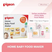 PIGEON Home Baby Food Maker - Free Tas Serut