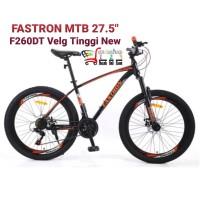 Fastron Sepeda MTB F260DT | F 260DT Velg Tinggi 27,5 inch Steel frame