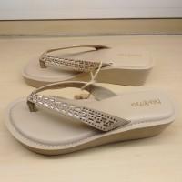 Sandal Wedges Wanita Bata Pata Pata Model terbaru