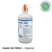 OneMed Hand Sanitizer Aseptic Gel - Dispenser 500 ml