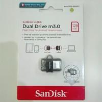OTG SanDisk Micro USB 128GB M3.0 SDDD3 Transparan ORIGINAL