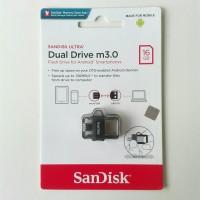 OTG Micro USB SanDisk 16 GB M3.0 SDDD3 Transparan ORIGINAL