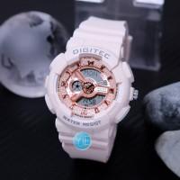 Jam Tangan Wanita Sport Digitec DG 2063 Dual Time Original Anti Air PP
