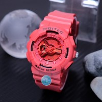 Jam Tangan Wanita Digitec 2063 ( DG 2063 T ) Double Time - Merah