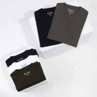Kaos Polos Pria Katun Cotton Combed Premium 30s Lengan Pendek - BLANK