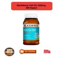 BLACKMORES FISH OIL 1000MG BPOM KALBE - 200 KAPSUL KODE 856