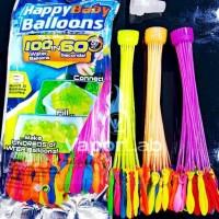 HAPPY BABY BALLOONS BUNCH WATER BALLOON FIGHT PERANG BALON AIR BOM