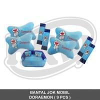 Bantal 9 Pcs Doraemon Mobil Mitsubishi Kuda accessories