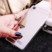 F7 Soft Case Mirror Cermin untuk oppo a3s f1s a59 F1 Plus R9 r9s A33