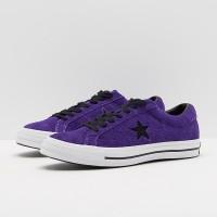 NEW Sepatu Converse One Star Ox -Court Purple