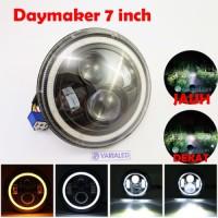 Daymaker 7 Inch Headlight Lamp LED 45W Nyala Cut Off Jauh Dekat TIDAK
