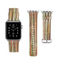 Strap Pengganti Bahan Kulit Domba untuk Apple Watch 38mm 42mm
