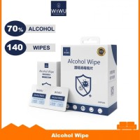 WIWU AW01 - Disposable Alcohol Wet Wipes - Single Box 140 Pads