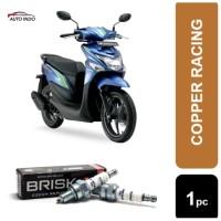Busi Motor Honda Beat Brisk Copper Racing AR12C 100% Ori