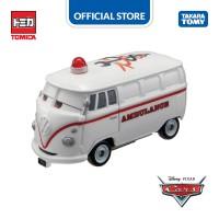 Tomica Cars Rescue Go! Go! Fillmore Ambulance