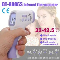 DT-8806S - Non-Contact Infrared Digital Thermometer with LCD Display