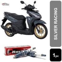 Busi Motor Honda Vario 125 150 Brisk Silver Racing AR10S-9