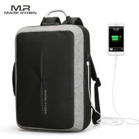Mark Ryden Tas Ransel Anti Maling dengan USB Charger Port - MR6832