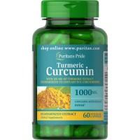PURITAN S PRIDE TURMERIC CURCUMIN 1000MG - 60 CAPSULES
