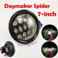 Daymaker Spider 7 Inchi Headlight Lamp LED 73W Cut Off Jauh Dekat