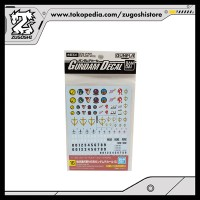 GUNDAM DECAL 1/100 SET FOR MS EARTH FEDERATION SPACE FORCE [16]