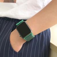 42mm Strap Pengganti Bahan Nilon Lembut Breathable untuk Apple Watch