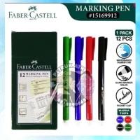 Faber-Castell Marking Pen Markpen Spidol Warna Gambar Colour
