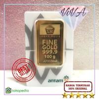 Logam Mulia Antam Certicard / Certieye 100 gr LM 999.9