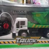 mobil remote truck sanitation vehicle