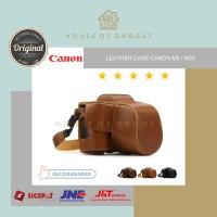 Bag Leather Case Tas Kamera Mirrorless Casing Canon Camera Eos M5 M50