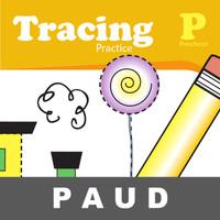 Tracing Practice Buku Aktivitas Anak PAUD Belajar Tarik Garis Mewarnai