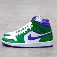 Nike Air Jordan 1 Mid Incredible Hulk 100% Authentic