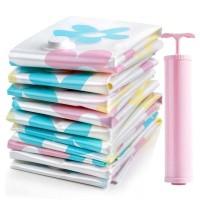 Kantong Vacuum Pakaian Plastic Storage 10 PCS LAUNDRY POUCH