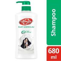 Lifebuoy Anti Dandruff Shampo Rambut Anti Ketombe Kuat Berkilau 680Ml