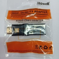 Howell Gender / Connector Adapter HDMI Female To HDMI Male