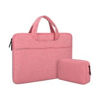 Tas Laptop Jinjing + pouch Softcase Sleeve Waterproof Nylon 11 12 inch