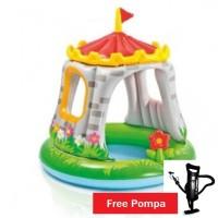 Kolam Main Bayi Kolam Renang Anak Royal Castle Baby Pool free pompa