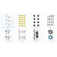 Tattoo/Tattoo temporary/Tattoo Temporer/Tattoo 10x6 cm HC 004