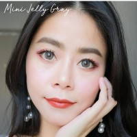 ORIGINAL SOFTLENS KITTY KAWAII MINI JELLY GREY SOFLENS SOFTLENSES